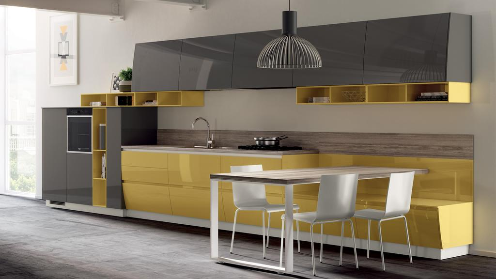 Кухня Flux Swing, Scavolini