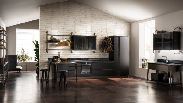 Кухня Diesel Open Workshop, Scavolini_5