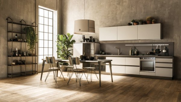 Кухня Diesel Open Workshop, Scavolini_6