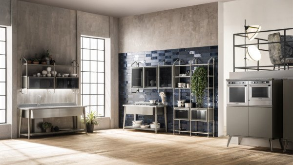 Кухня Diesel Open Workshop, Scavolini_8