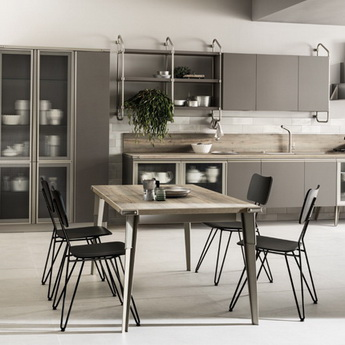 Кухня Diesel Open Workshop Soft Dun, Scavolini